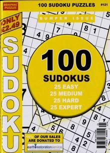 Brainiac Sudoku Magazine NO 121 Order Online