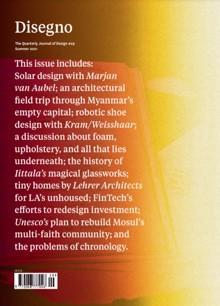 Disegno Magazine Issue NO 29