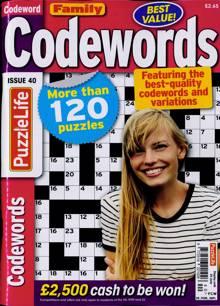 Family Codewords Magazine NO 40 Order Online