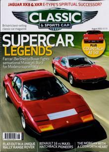 Classic & Sportscar Magazine AUG 21 Order Online