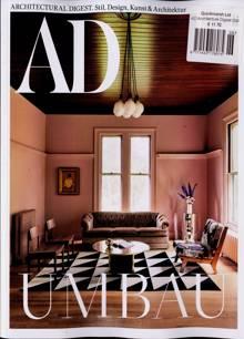 Architectural Digest German Magazine Issue NO 6