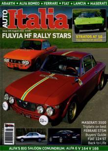 Auto Italia Magazine NO 306 Order Online