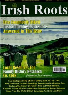 Irish Roots Magazine NO 118 Order Online