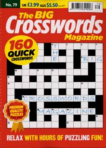 Big Crosswords Magazine NO 79 Order Online