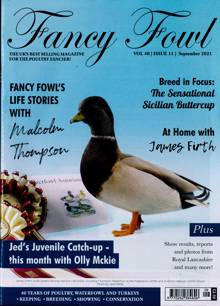 Fancy Fowl Magazine SEP 21 Order Online