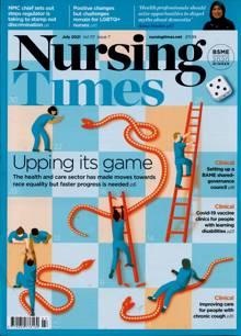 Nursing Times Magazine JUL 21 Order Online