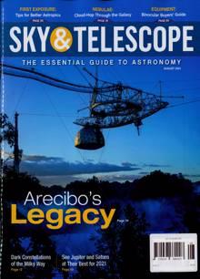 Sky And Telescope Magazine AUG 21 Order Online