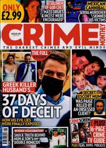 Crime Monthly Magazine NO 28 Order Online