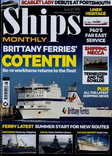 Ships Monthly Magazine Issue AUG 21