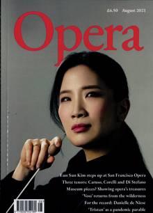 Opera Magazine Issue AUG 21
