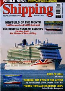 Shipping Today & Yesterday Magazine Issue AUG 21