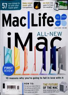 Mac Life Magazine JUL 21 Order Online