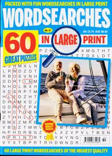 Wordsearches In Large Print Magazine Issue NO 51