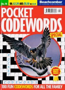 Pocket Codewords Special Magazine NO 78 Order Online