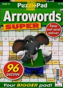 Puzzlelife Arroword Super Magazine NO 41 Order Online