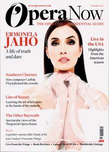 Opera Now Magazine NOV 21 Order Online