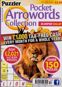 Puzzler Q Pock Arrowords C Magazine NO 153 Order Online
