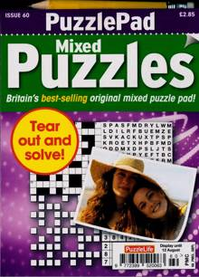 Puzzlelife Ppad Puzzles Magazine NO 60 Order Online