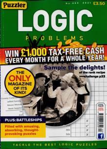 Puzzler Logic Problems Magazine NO 444 Order Online