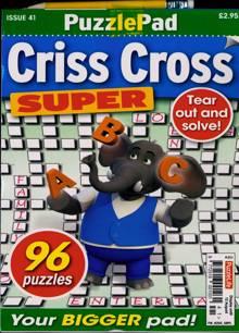 Puzzlelife Criss Cross Super Magazine NO 41 Order Online