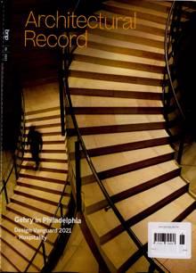 Architectural Record Magazine Issue JUN 21