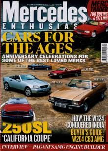 Mercedes Enthusiast Magazine AUG-SEP Order Online
