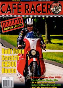 Cafe Racer Magazine JUN-JUL Order Online