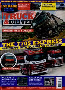 Truck And Driver Magazine SEP 21 Order Online
