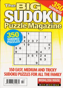 Big Sudoku Puzzle Magazine NO 114 Order Online