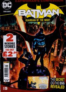 Batman Guardian Of The Night Magazine 26/08/2021 Order Online