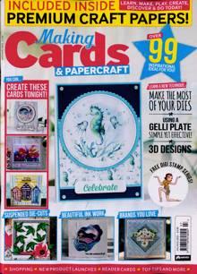 Making Cards Magazine JUL-AUG Order Online
