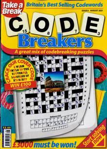 Take A Break Codebreakers Magazine NO 8 Order Online