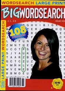 Big Wordsearch Magazine NO 255 Order Online