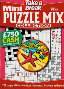 Tab Mini Puzzle Mix Coll Magazine Issue NO 131