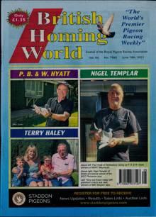 British Homing World Magazine NO 7582 Order Online