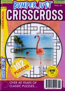 Bumper Just Criss Cross Magazine NO 99 Order Online
