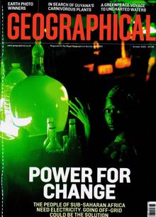 Geographical Magazine OCT 21 Order Online