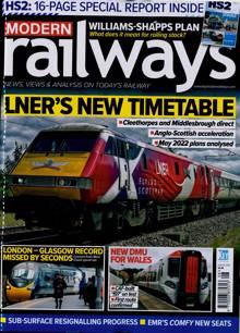 Modern Railways Magazine AUG 21 Order Online