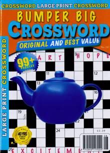 Bumper Big Crossword Magazine NO 147 Order Online