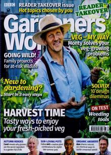 Bbc Gardeners World Magazine AUG 21 Order Online
