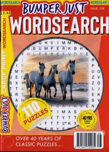 Bumper Just Wordsearch Magazine NO 238 Order Online