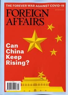Foreign Affairs Magazine Issue JUL-AUG