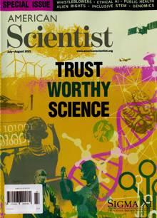 American Scientist Magazine JUL-AUG Order Online