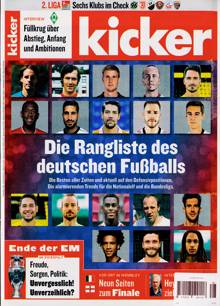 Kicker Montag Magazine Issue NO 28