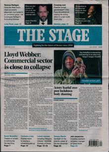 Stage Magazine 29/07/2021 Order Online