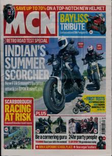 Motorcycle News Magazine 28/07/2021 Order Online