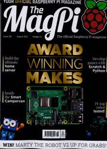 Magpi Magazine AUG 21 Order Online