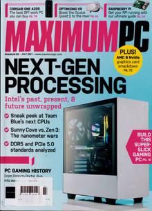 Maximum Pc Magazine JUL 21 Order Online