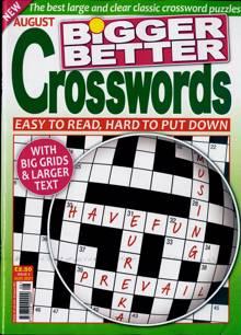 Bigger Better Crosswords Magazine NO 8 Order Online