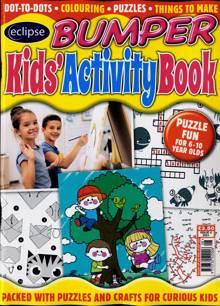 Eclipse Bumper Kids Activity Book Magazine NO 8 Order Online
